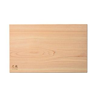 長野県産木曽桧の一枚板まな板 中